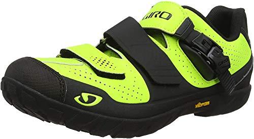 Giro - Zapatillas de ciclismo para hombre rojo rojo, color rojo, talla 44
