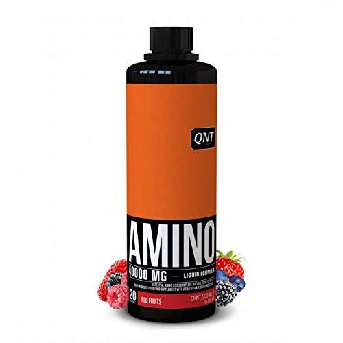 QNT Amino Liquid Suplemento Sabor Red Fruits - 500 ml