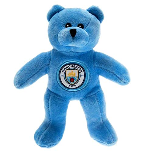 Official Manchester City Mascot Plush Beanie Bear