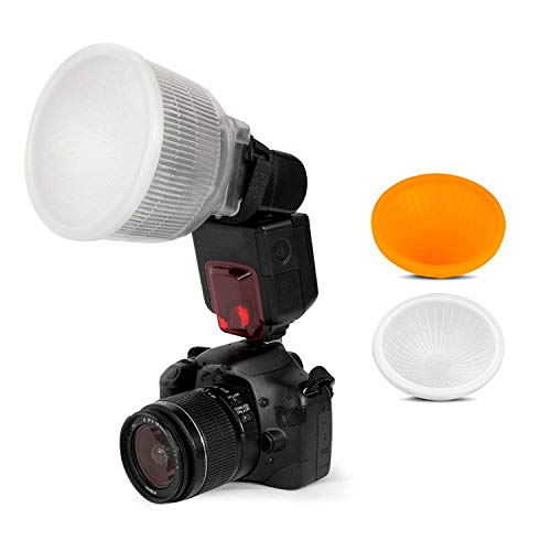 SHOOT Lambency Dome Blinken Diffusor für Canon 420EX 430EX 550EX 580EX 580EX II 600EX Nikon SB600 SB700 SB800 SB900 SB910 Sony HVL-F42AM-F43AM