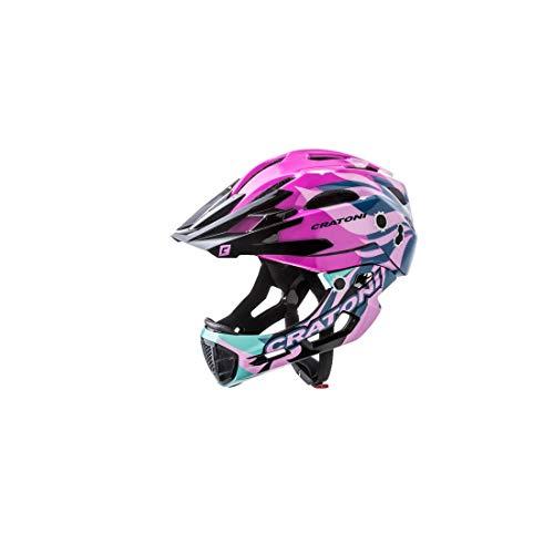 Cratoni Unisex– Erwachsene C-Maniac Pro (MTB) Fahrradhelm, Pink, One Size