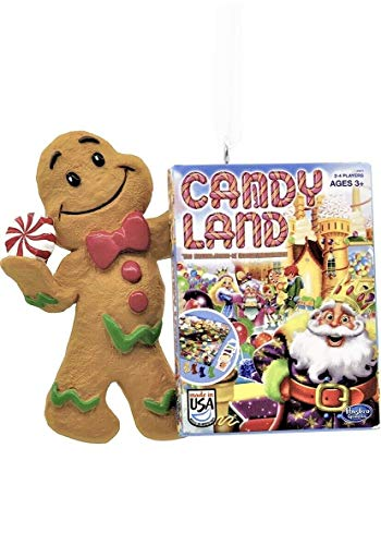 2019 Hallmark Candy Land (Childhood Board Game-) RED Box Christmas Ornament