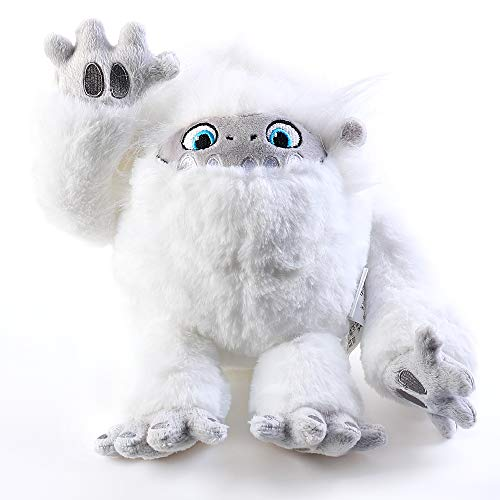 Abomi-nable Everest Soft Toy Cute Snow Monster Stuffed Animal Plush Toy Sleeping Super Soft Everest Yeti Doll Christmas Birthday Gift for Kids (10.2IN)