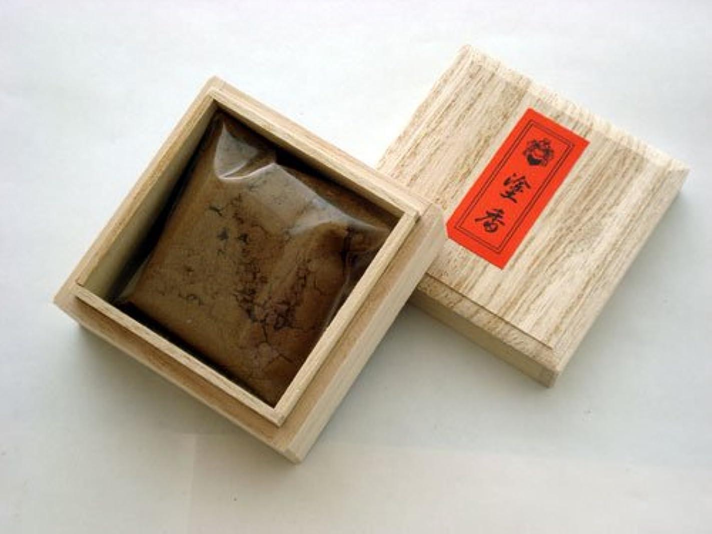 ストレージ樫の木人工的な特上塗香(とくじょうずこう) 桐箱入り 【松栄堂】