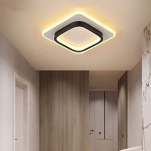 Bradoner Moderna Casa Entrada Hall Armario Lámpara LED Simple Lámpara Nórdica Balcón Pasillo Lámpara de Techo Pasillo Luces