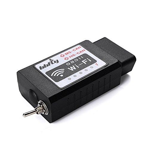 bbfly-BB77105 WiFi-Modul, modifiziert für Forscan, HS-CAN / MS-CAN, für Ford, Mazda-Fahrzeuge, OBD2, für iPhone und iPad