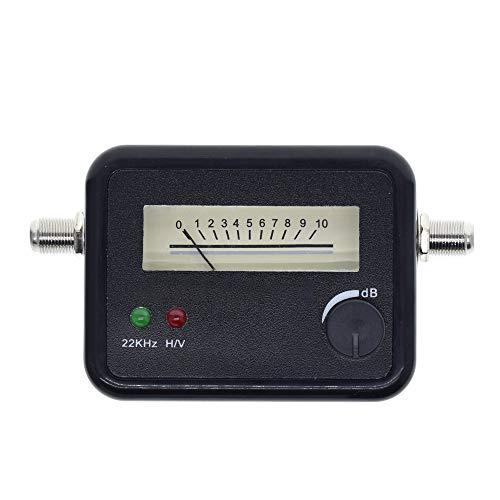 GUTES PRODUKT 2020 Satelliten-Finder Finden Alignment Signal Meter Rezeptor for Sat Dish LNB Direc Digital-TV-Signal-Verstärker-Sat-Finder