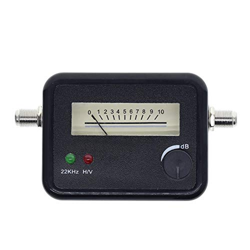 GUTES PRODUKT 2020 Satelliten-Finder Finden Alignment Signal Meter Rezeptor for Sat Dish LNB Direc Digital-TV-Signal-Verstärker-Sat-Finder