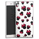 Coque Compatible avec Sony Xperia XA1 Ultra Étui Housse Disney Minnie Mouse Produit sous Licence...