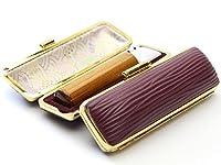 「金色飛羽(こんじきひば)印鑑10.5mm×60mmクッキーケース(ブラウン)付き」 縦彫り 古印体