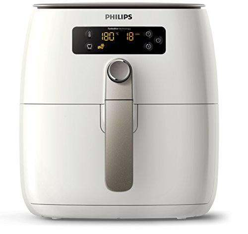 Philips HD9642/20 Airfryer Compact Blanc + plateau  -...