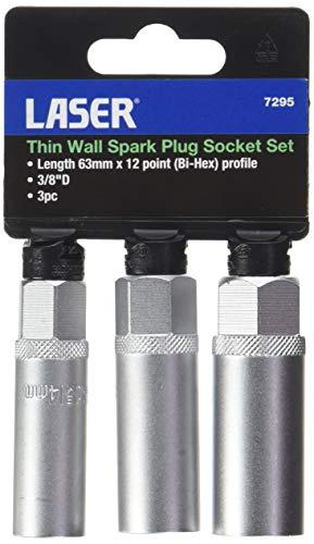 Laser 7295 Tools-Set di 3 Candele di accensione a Parete Sottili