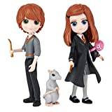 image of collectible Harry Potter magical minis from Wizarding world featuring Ron and Ginny Weasley one of our picks of the latest must have toy crazes 2021