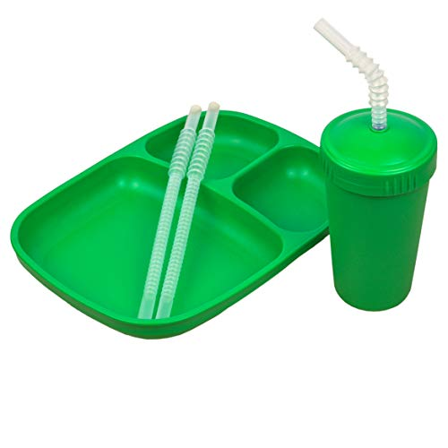 Re-Play Made in USA - 3 PK Tableware Set of Large Heavy...