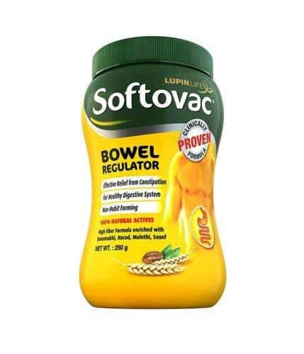 Spacetouch Softovac - Regolatore intestinale da 100 GMS, confezione da 2 pezzi
