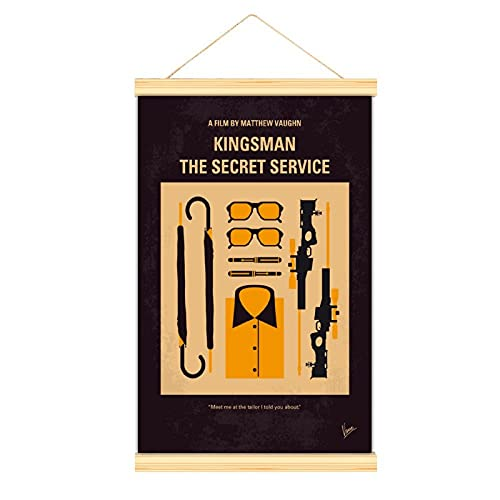 Excelente póster de película de MATTHEW VAUGHN KingSMAN THE SECRET SERVICE Art Art Wall Room Decor Poster 40 x 60 cm