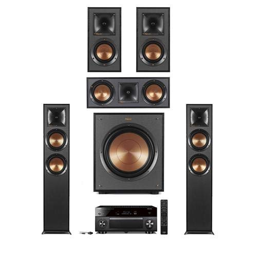 Buy Bargain Klipsch 2X R-625FA Dolby Atmos Floor-Standing Speaker - Bundle w/R-41M Bookshelf Home Sp...
