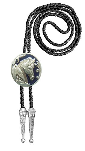 Urban Backwoods Horse II Bolotie Western Country Bolo Tie