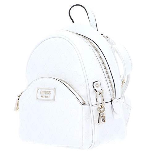 41Kx3I1NhEL - Guess Logo Love Bradyn Backpack Ivory
