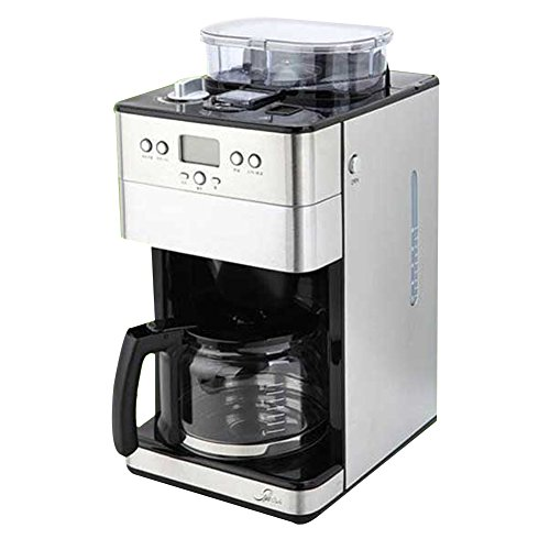 Style Cafe Gridip Grind&Brew Coffee Maker Brewer machine with built-in milling Grinder 220V & Simple English User's Guide