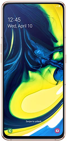 Samsung Galaxy A80 (Angel Gold, 8GB RAM, 128GB Storage) with No Cost EMI/Additional Exchange Offers