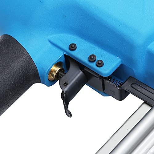 Grapadora de clavos, clavadora neumática, uso profesional de alta precisión para decoración, fabricación de casas