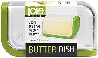 MSC International 40444 Joie Butter Dish, Green White (Original Version)