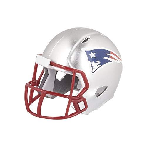 Riddell New England Patriots NFL Velocidad Bolsillo Pro Micro/tamaño de Bolsillo/Mini Casco de fútbol