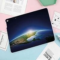 iPad mini4 ケース, ipad mini4 カバー,高級品質、ポリウレタン製、 7.9インチタブレットケースカバー、オートスリープ機能付き、防衝撃デザイン、雲のない北アメリカの大気圏太陽系装飾的な地球の日の出