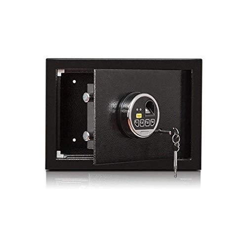 XHMCDZ Seguridad Digital Caja de Seguridad del Ministerio del Interior for la seguridad de bloqueo de teclas y contraseña cajas fuertes de los hogares de huellas dactilares contraseña segura segura 25