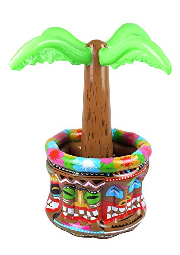 Labreeze Hawaiian Luau - Enfriador de bebidas hinchable para playa, piscina, decoración de fiesta