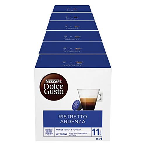 Nescafè(R) Original Kaffee Kapseln Dolce Gusto Ristretto Ardenza - 96 Kapseln