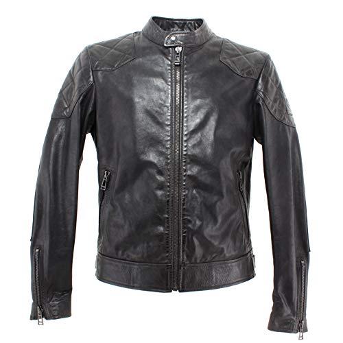 Belstaff Outlaw Leather Jacket Black-50