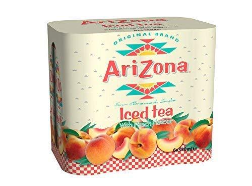Arizona Original Ice Tea Aroma de melocoton - 6 x 330 ml.