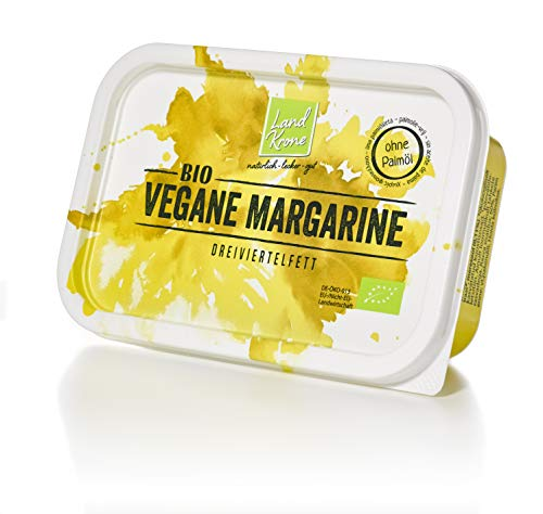 Landkrone Bio Vegane Margarine, 250 g ohne Palmöl I palmölfrei