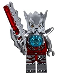 LEGO Legends of Chima: WAKZ from Wolf Tribe Minifigure & Weapons/Accessories