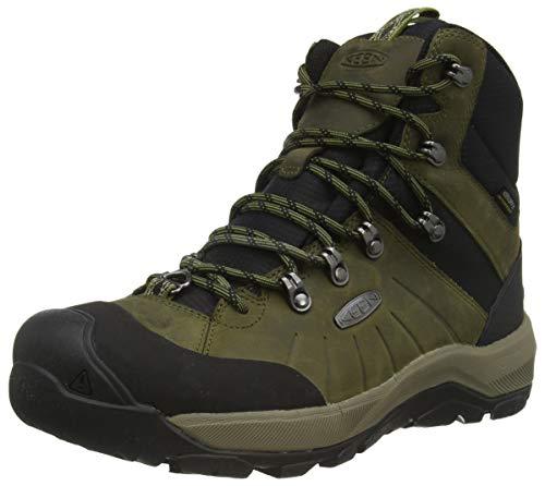 KEEN Męskie buty śnieżne Revel 4 Polar średnia wysokość, Dark Olive Black - 44 EU