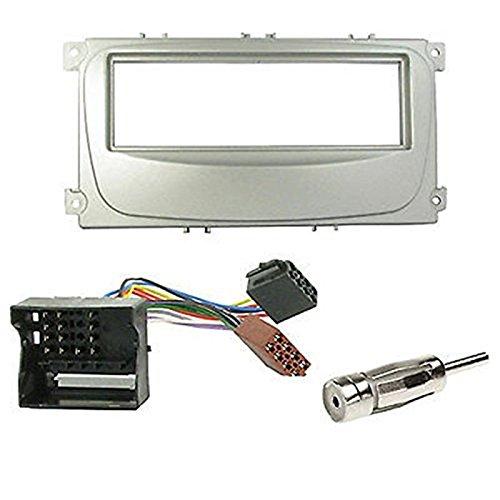 Kit de Montaje Marco para Radio Adaptador autorradio 1 DIN Ford Mondeo/Focus/S-MAX/Galaxy