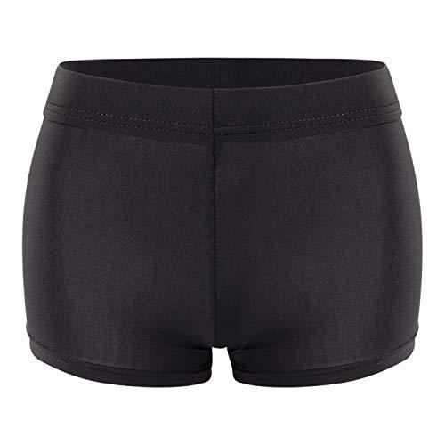 LAEMILIA Mini Courts Pantalon Femmes Été Hot Shorts Club Wear Noir EU 38/Tag L