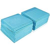 DZL-empapadores Desechables - Empapadores Super-absorbentes, Almohadillas para la incontinencia (XL 60X90CM 40PCS, Blanco)