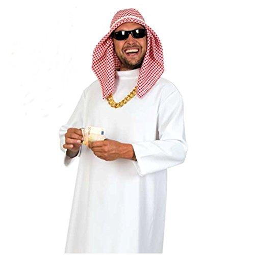 KarnevalsTeufel Kostüm Scheich Araber Beduine Wüste für Erwachsene (52)