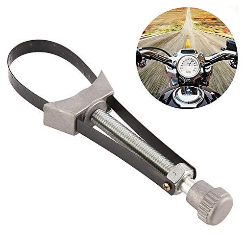 Tang auto oliefilter tool voor het verwijderen bandsleutel diameter verstelbaar 60 mm tot 120 mm, voor auto/motorfiets enz.