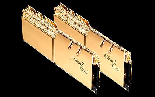 Memoria GSKILL DDR4 16GB PC3600 C18 TridZ Royal Kit DE 2
