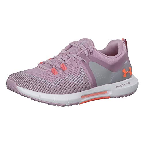 Under Armour Women's HOVR Rise Cross Trainer, Pink Fog (601)/White, 9.5