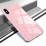 Caler - Carcasa compatible con Huawei P10 Plus - Funda protectora de cristal templado 9H - Antiarañazos + Marco antigolpes de TPU silicona suave - Antigolpes - Diseño 3D Vogue Ultra Chic Bella