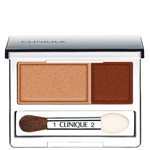 Clinique All About Shadow Duo 01 like mink, 1er Pack (1 x 2 g)