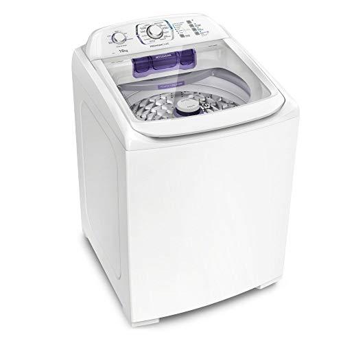 Máquina de Lavar 16Kg Electrolux Branca Premium Care Silenciosa, Cesto inox e Jet&Clean (LPR16) 220V