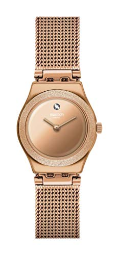 Montre Swatch Femme Luminescent Rose