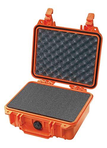 Pelican 1200 Camera Case With Foam (Orange)
