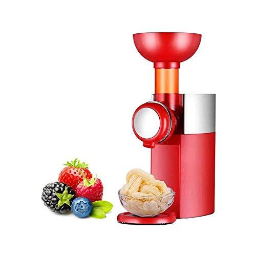 ALYHYB Mini Fabricante de Helados, Yogurt Postre Sorbete de Helado de máquina, fácil de Limpiar con Anti Skid Parte Inferior, for Postres Caseros, Suave Saludable huangcui